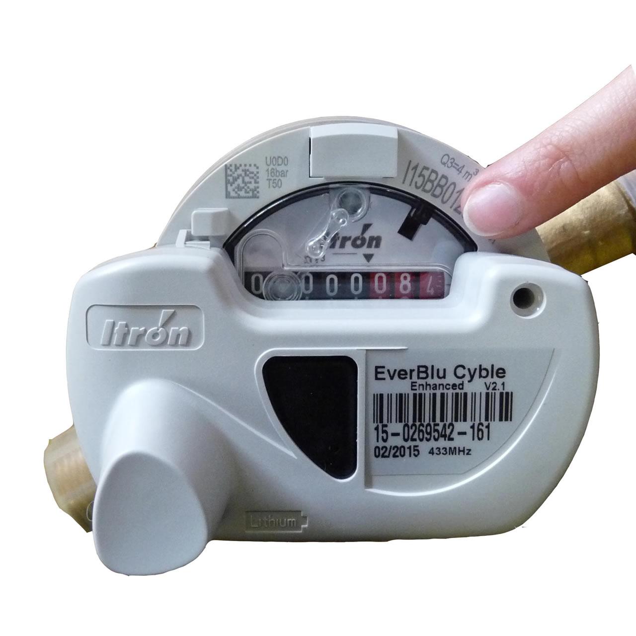 Sdea comment lire et relever l index de son compteur d eau - Comment isoler un compteur d eau exterieur ...